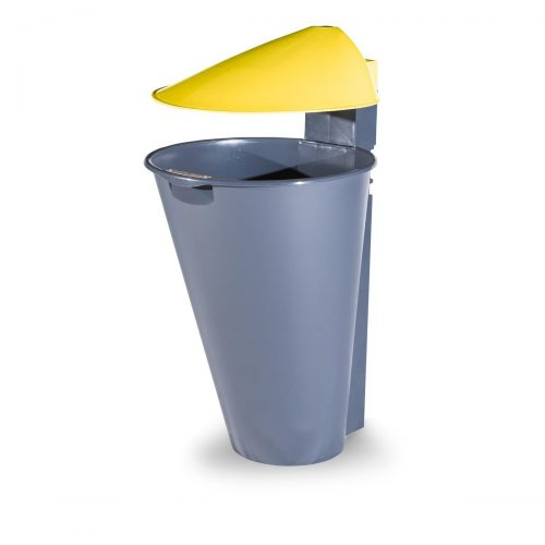 Alicante Polypropylene Yellow Bin for street P-201-AMAR