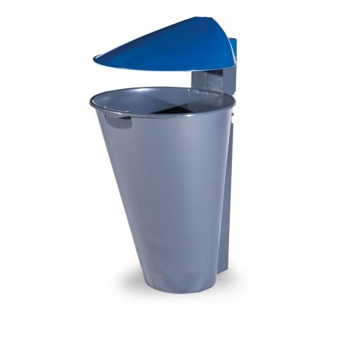 Alicante Polypropylene Blue Bin for street P-201-AZUL