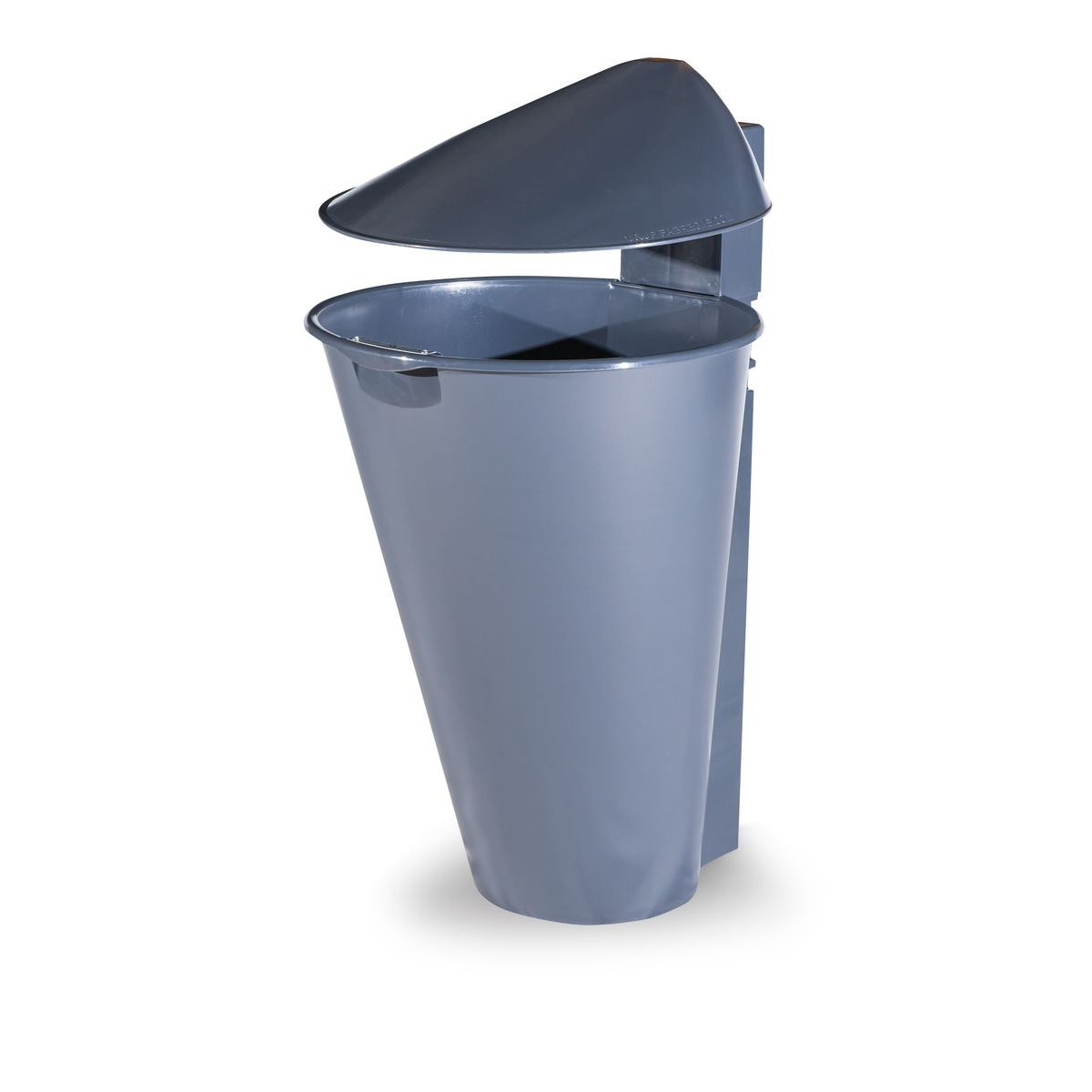 Alicante Polypropylene Grey Bin for street P-201-GRIS