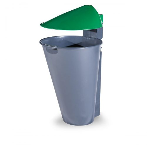 Alicante Polypropylene Green Bin for street P-201-VERDE