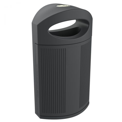 Ibiza Polypropylene Grey Bin for street P-23I