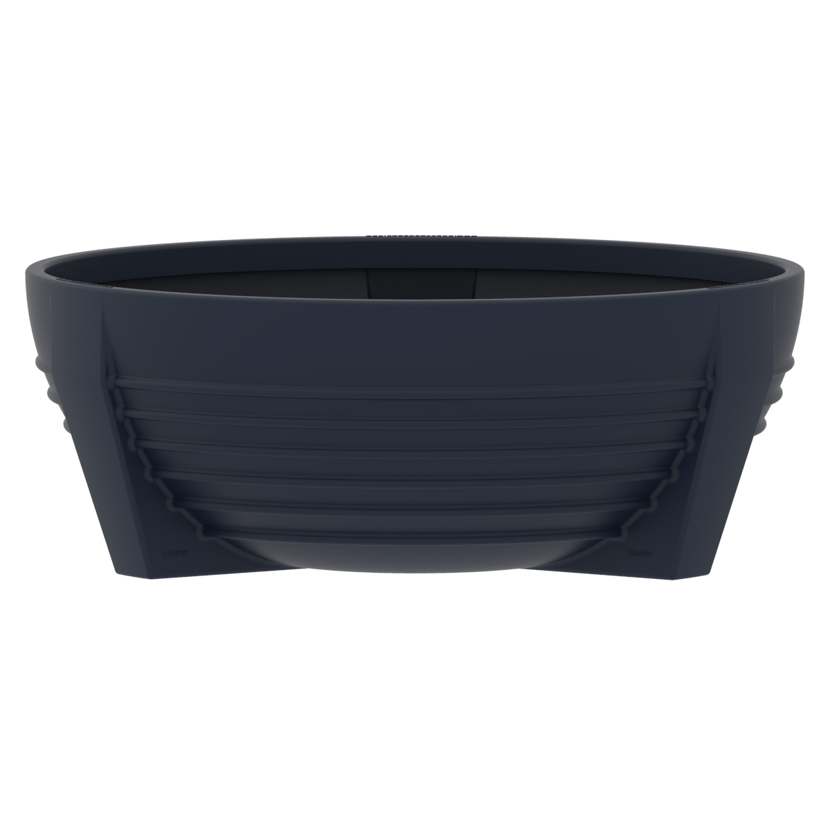 Sferic or circular flower box of Polypropylene futura P-300