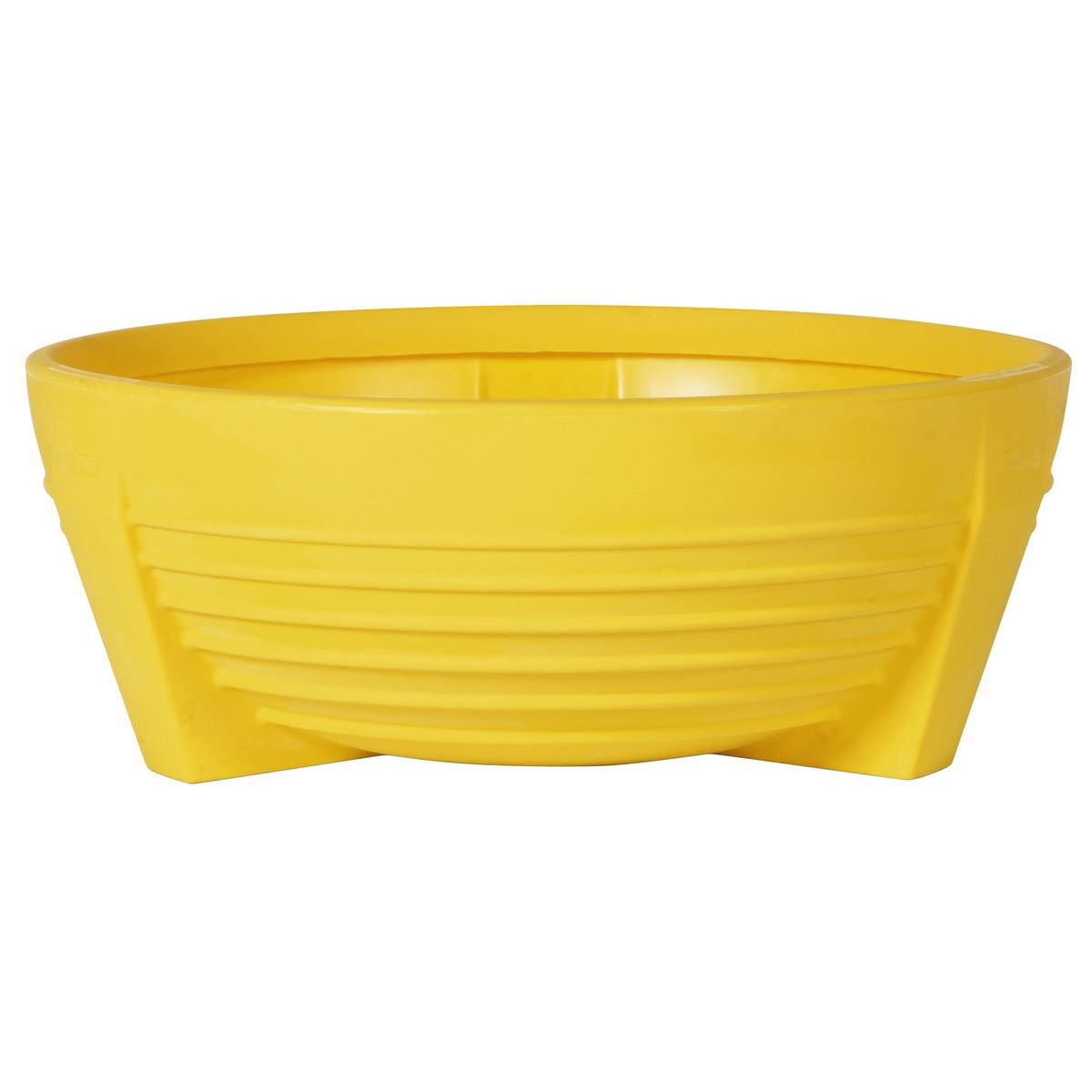 Circular yellors flower box of Polypropylene futura P-300
