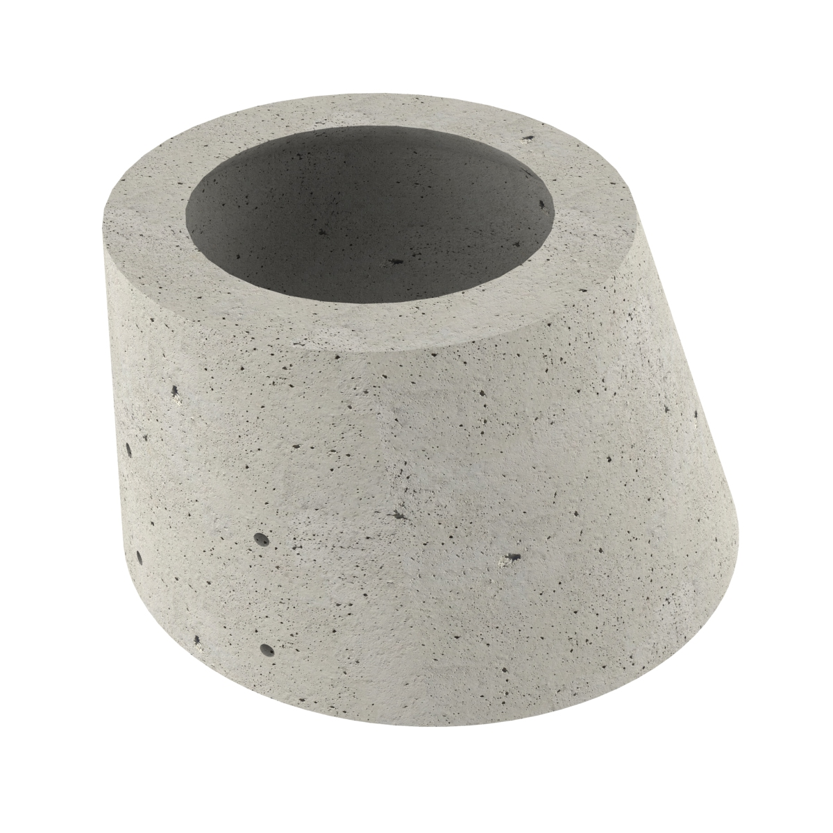 Concrete asimetric cone for wells P-8 60x100x65