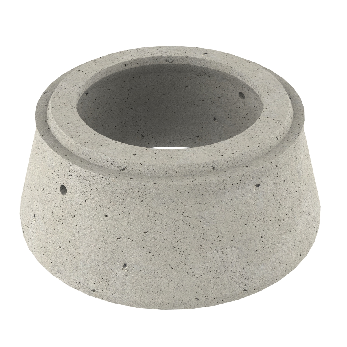 Simetric sone of concrete for wells P-8C 60x80x40