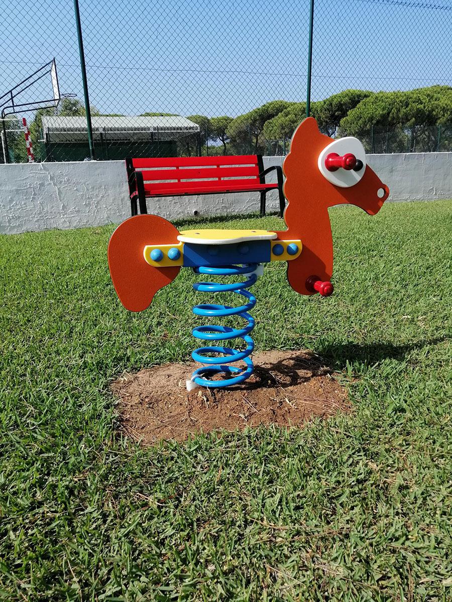 Mobiliario parques infantiles- Zona de Juego en Punta Umbría