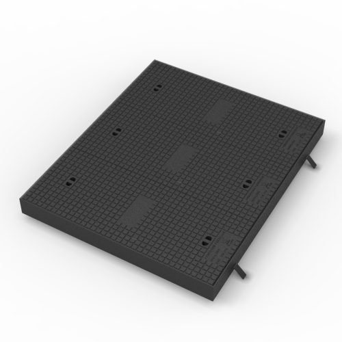 Telephony and communication Manhole cover and frame in casting TAPA-FDD-D400
