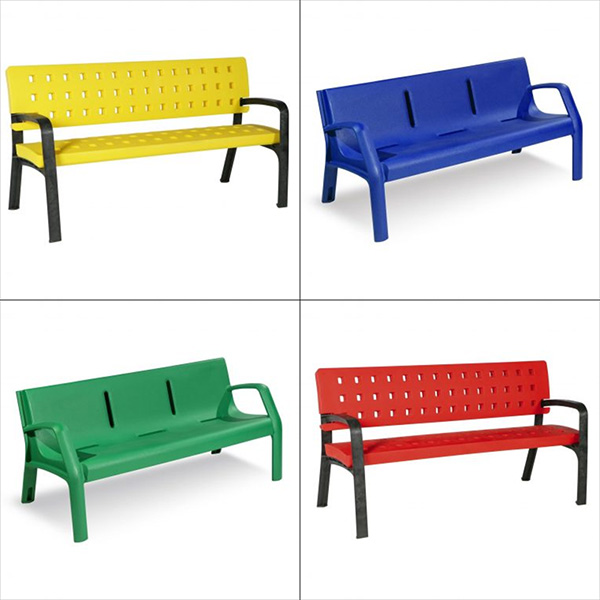 Plastic Benches For Gardens Design And Resistance