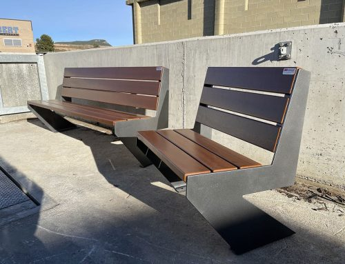 Zenit chairs and benches in Igualada – 2021
