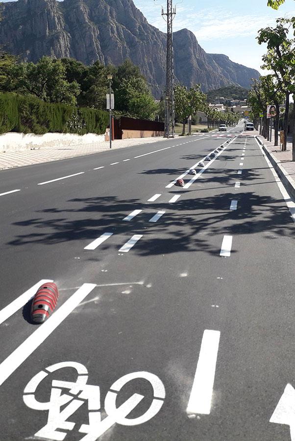 Carril bici Collbató