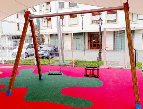 Playground swings in Ampuero, Cantabria – 2021