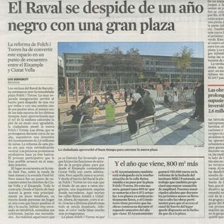 La Vanguardia - Grup Fabregas reforma Raval