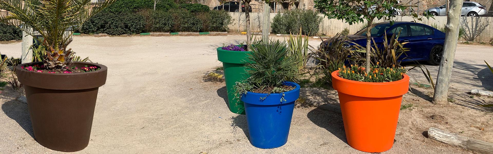 Jardineras de plástico Alvium