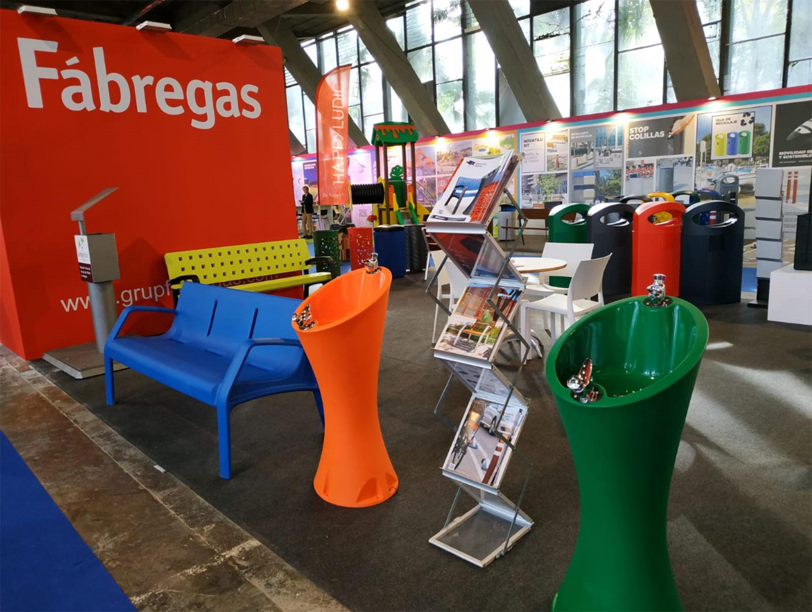 Feria Mobiliario urbano - Municipalia