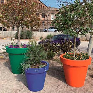New collection of ALVIUM ecologic planters