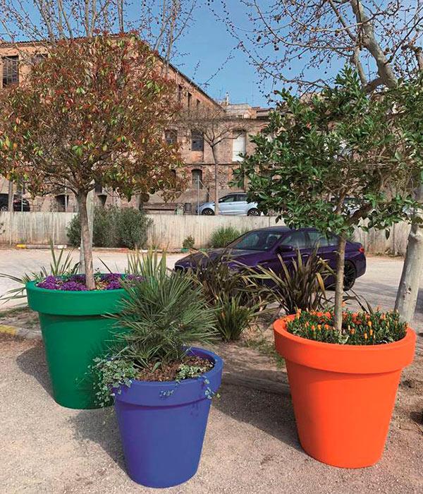 Nueva colección de jardineras ecológicas ALVIUM