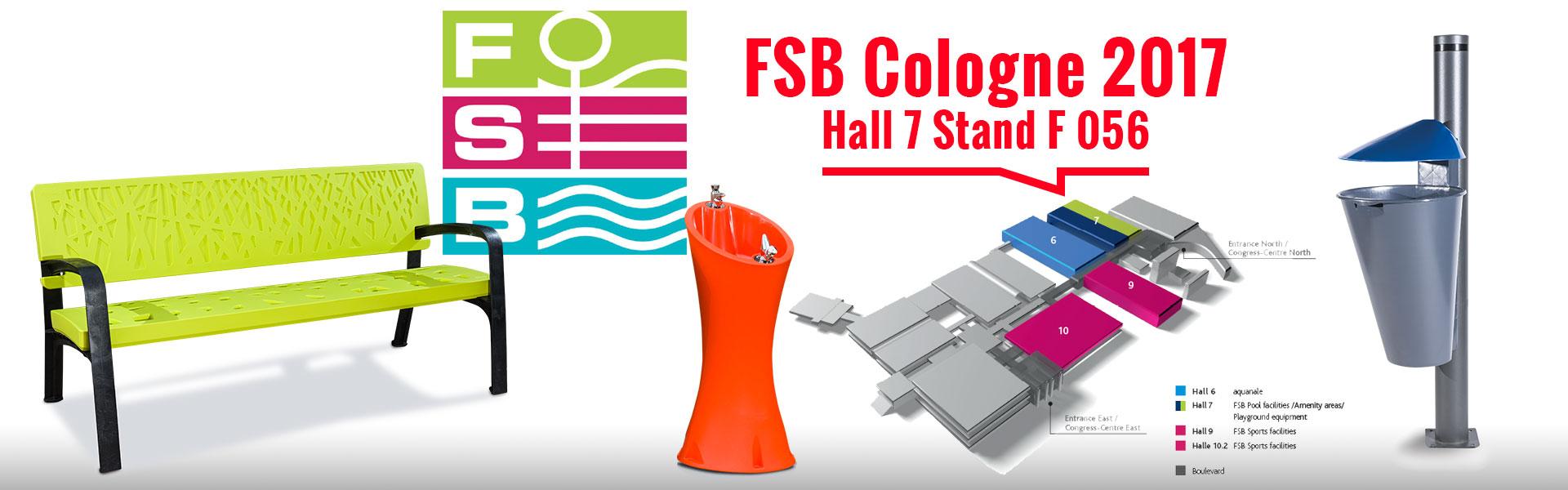 Feria FSB mobiliario urbano