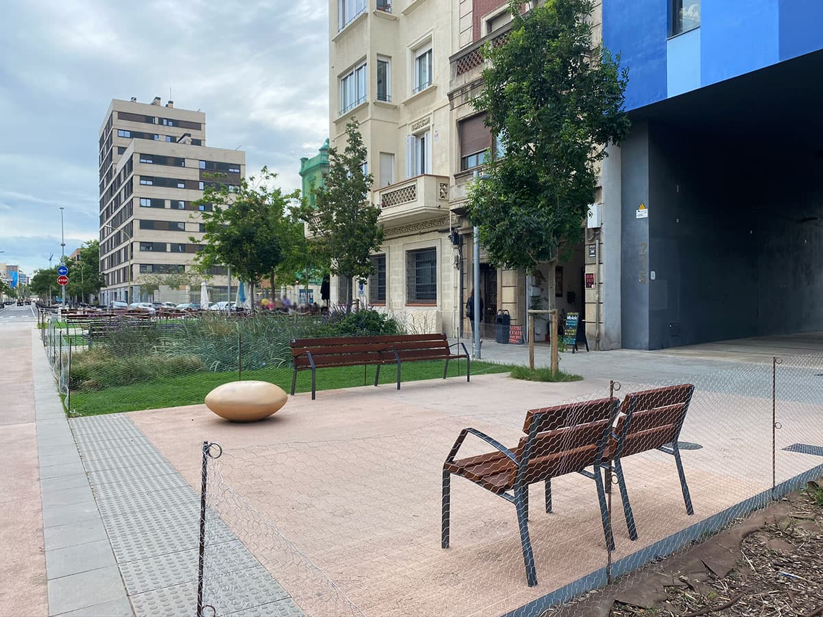 Zonas ajardinadas de Barcelona